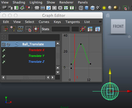 maya graph editor