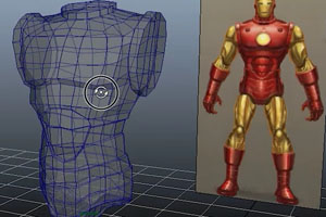 Ironman Chest Plate Modeling