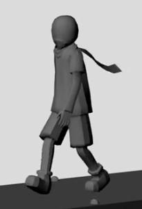 walk cycle animation