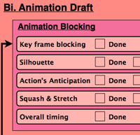 animation blocking
