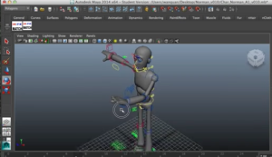 norman rig for character animation