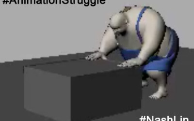 Animation Case Study: Fat Character Pushing Box