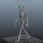 3d walk cycle animation class