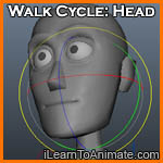 Walk Cycle: Head
