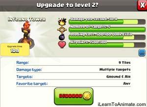 clash of clan defence progress