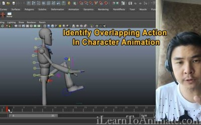 Identify Overlapping Action In Character Animation