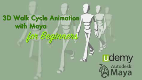 3d walk cycle animation udemy coupon
